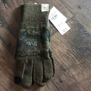 NWT men's Abercrombie and Fitch gloves